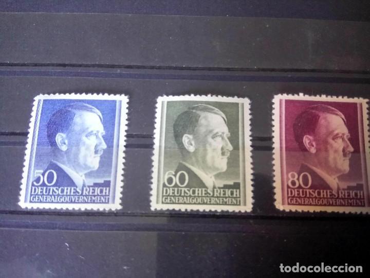 ALEMANIA, OCUPACIÓN DE POLONIA, GOBIERNO GENERAL, 1942 MICHEL 83/85 (Sellos - Extranjero - Europa - Alemania)