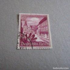 Sellos: ALEMANIA 1938, YVERT Nº 624, BRAUNAU ET CROCUS. Lote 127551319