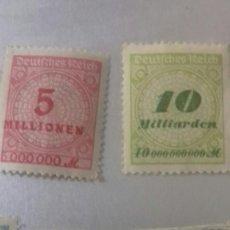 Sellos: LOTE 30 SELLOS DE ALEMANIA-BAVIERA MUY ANTIGUOS DE 1890 A 1930. CON 4 SELLOS DE LA INFLACION. Lote 128708371