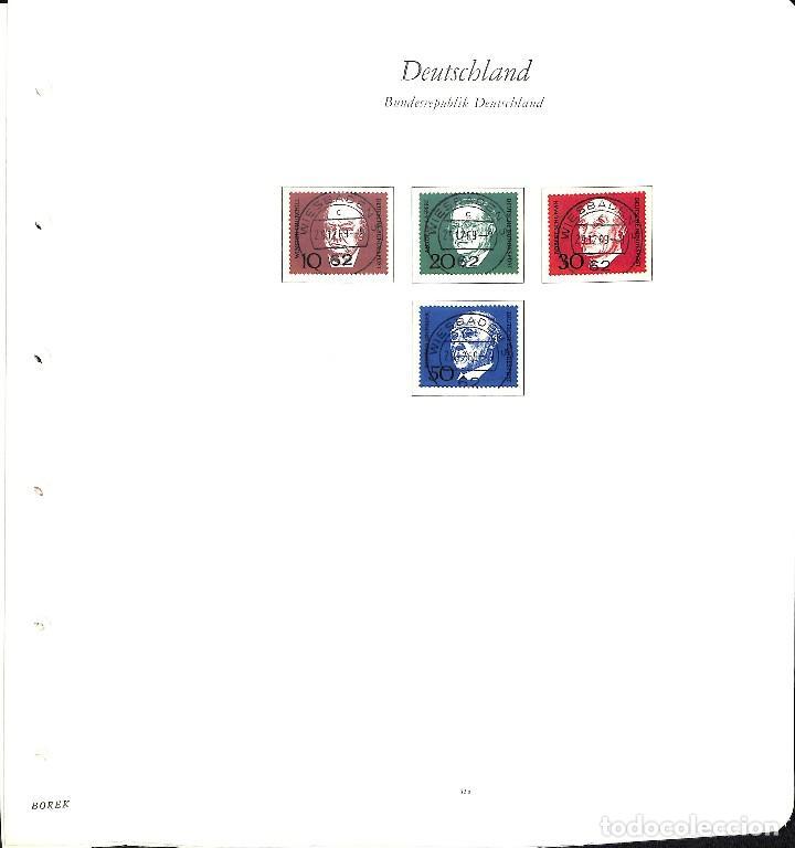 Sellos: ALEMANIA FEDERAL, 1966-1989 COLECCIÓN DE SELLOS Y HOJAS BLOQUE EN USADO, - Foto 6 - 128830527