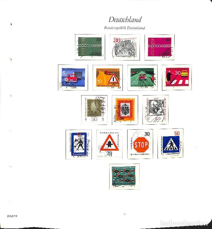 Sellos: ALEMANIA FEDERAL, 1966-1989 COLECCIÓN DE SELLOS Y HOJAS BLOQUE EN USADO, - Foto 15 - 128830527