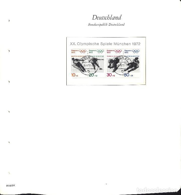 Sellos: ALEMANIA FEDERAL, 1966-1989 COLECCIÓN DE SELLOS Y HOJAS BLOQUE EN USADO, - Foto 16 - 128830527