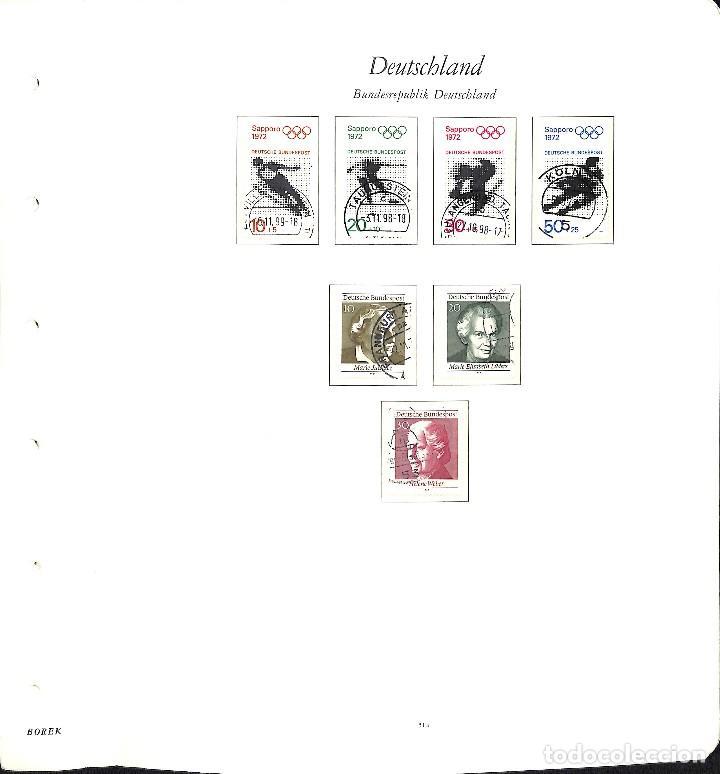 Sellos: ALEMANIA FEDERAL, 1966-1989 COLECCIÓN DE SELLOS Y HOJAS BLOQUE EN USADO, - Foto 17 - 128830527