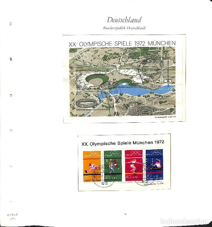 Sellos: ALEMANIA FEDERAL, 1966-1989 COLECCIÓN DE SELLOS Y HOJAS BLOQUE EN USADO, - Foto 20 - 128830527