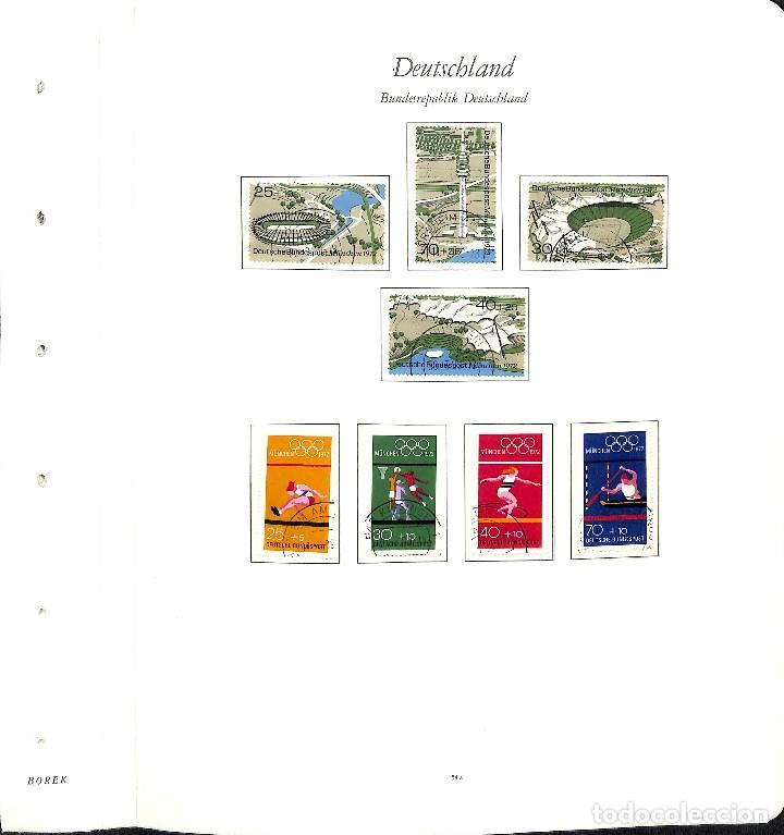 Sellos: ALEMANIA FEDERAL, 1966-1989 COLECCIÓN DE SELLOS Y HOJAS BLOQUE EN USADO, - Foto 21 - 128830527