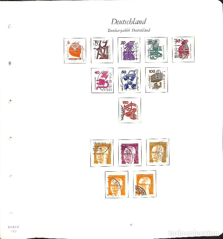 Sellos: ALEMANIA FEDERAL, 1966-1989 COLECCIÓN DE SELLOS Y HOJAS BLOQUE EN USADO, - Foto 23 - 128830527