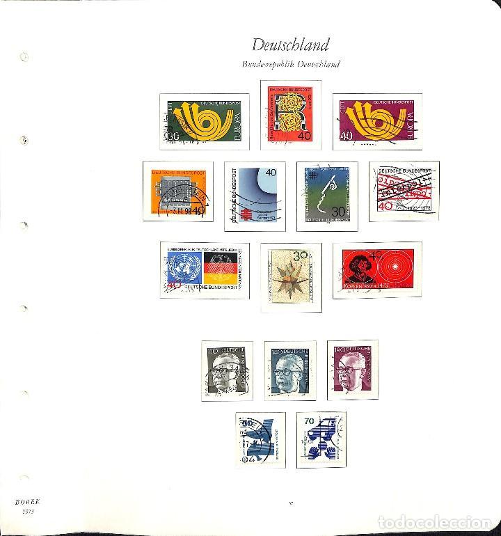 Sellos: ALEMANIA FEDERAL, 1966-1989 COLECCIÓN DE SELLOS Y HOJAS BLOQUE EN USADO, - Foto 24 - 128830527