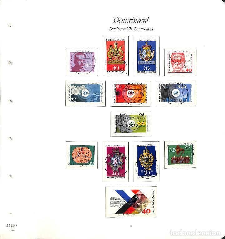 Sellos: ALEMANIA FEDERAL, 1966-1989 COLECCIÓN DE SELLOS Y HOJAS BLOQUE EN USADO, - Foto 26 - 128830527