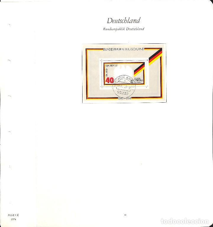 Sellos: ALEMANIA FEDERAL, 1966-1989 COLECCIÓN DE SELLOS Y HOJAS BLOQUE EN USADO, - Foto 28 - 128830527