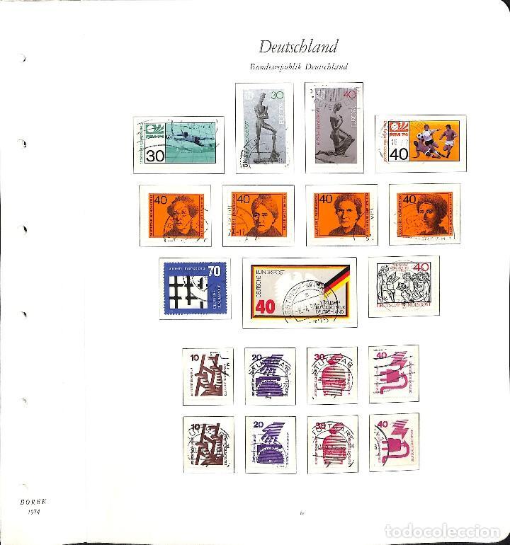 Sellos: ALEMANIA FEDERAL, 1966-1989 COLECCIÓN DE SELLOS Y HOJAS BLOQUE EN USADO, - Foto 29 - 128830527