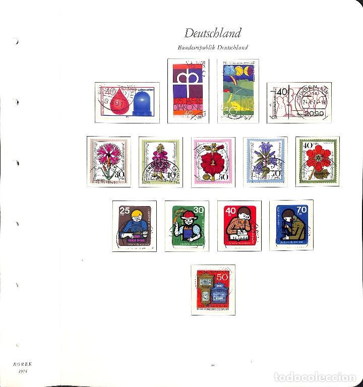 Sellos: ALEMANIA FEDERAL, 1966-1989 COLECCIÓN DE SELLOS Y HOJAS BLOQUE EN USADO, - Foto 31 - 128830527