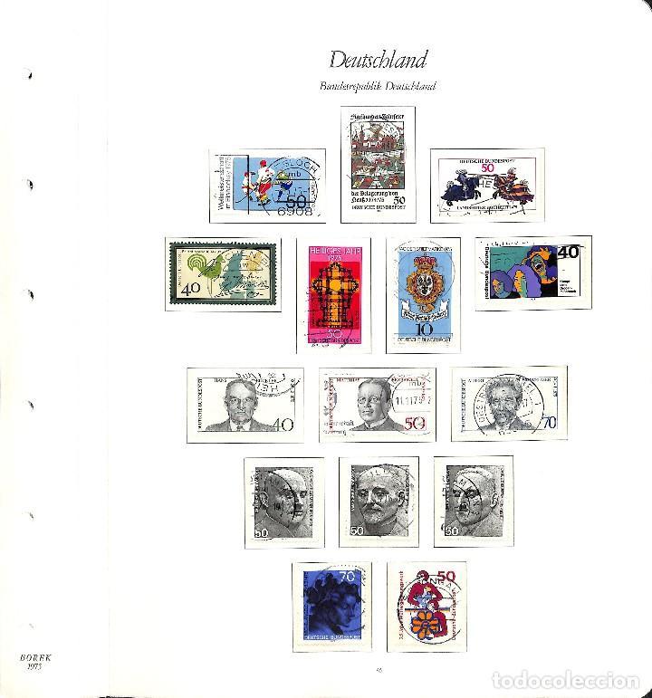 Sellos: ALEMANIA FEDERAL, 1966-1989 COLECCIÓN DE SELLOS Y HOJAS BLOQUE EN USADO, - Foto 32 - 128830527