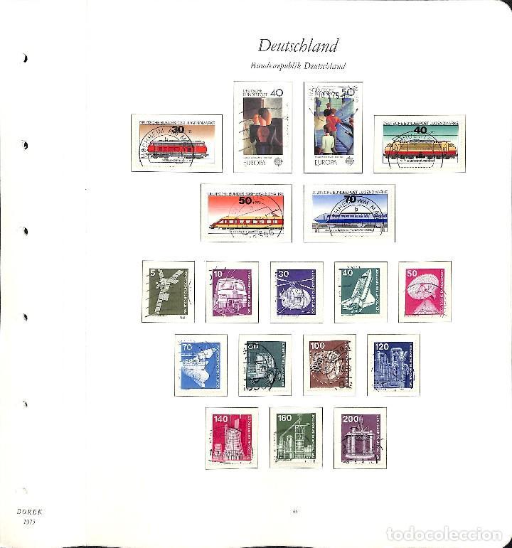 Sellos: ALEMANIA FEDERAL, 1966-1989 COLECCIÓN DE SELLOS Y HOJAS BLOQUE EN USADO, - Foto 33 - 128830527