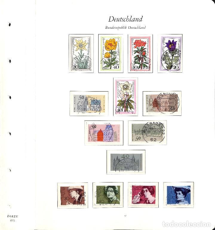 Sellos: ALEMANIA FEDERAL, 1966-1989 COLECCIÓN DE SELLOS Y HOJAS BLOQUE EN USADO, - Foto 34 - 128830527