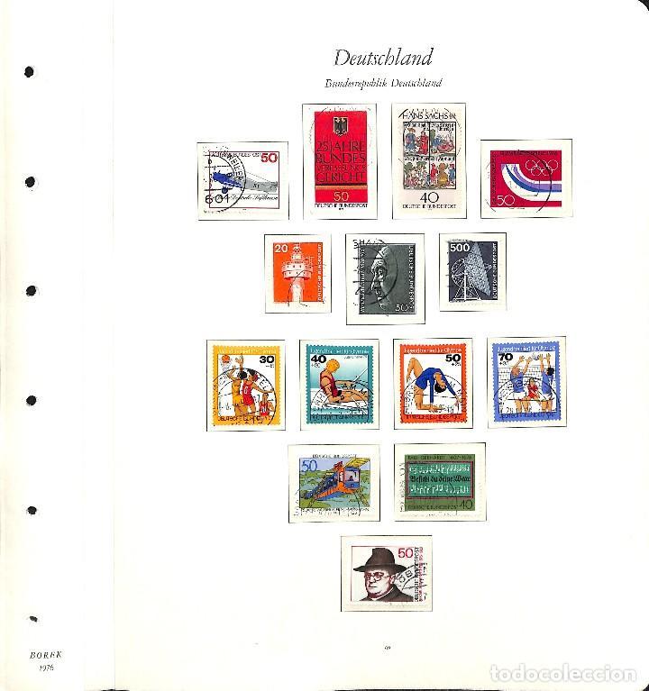 Sellos: ALEMANIA FEDERAL, 1966-1989 COLECCIÓN DE SELLOS Y HOJAS BLOQUE EN USADO, - Foto 36 - 128830527