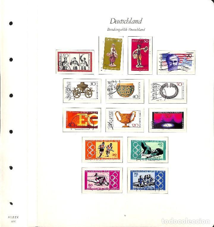 Sellos: ALEMANIA FEDERAL, 1966-1989 COLECCIÓN DE SELLOS Y HOJAS BLOQUE EN USADO, - Foto 37 - 128830527