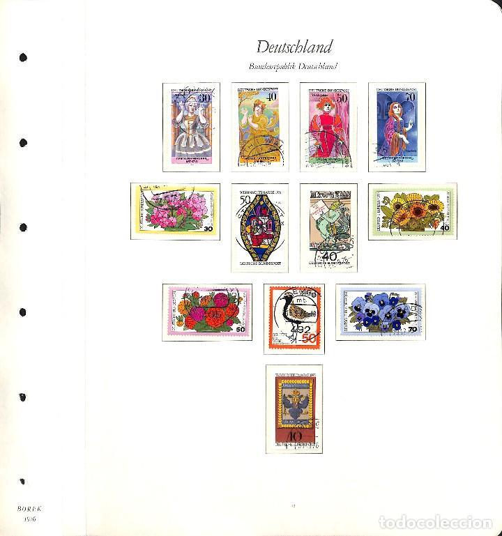 Sellos: ALEMANIA FEDERAL, 1966-1989 COLECCIÓN DE SELLOS Y HOJAS BLOQUE EN USADO, - Foto 39 - 128830527