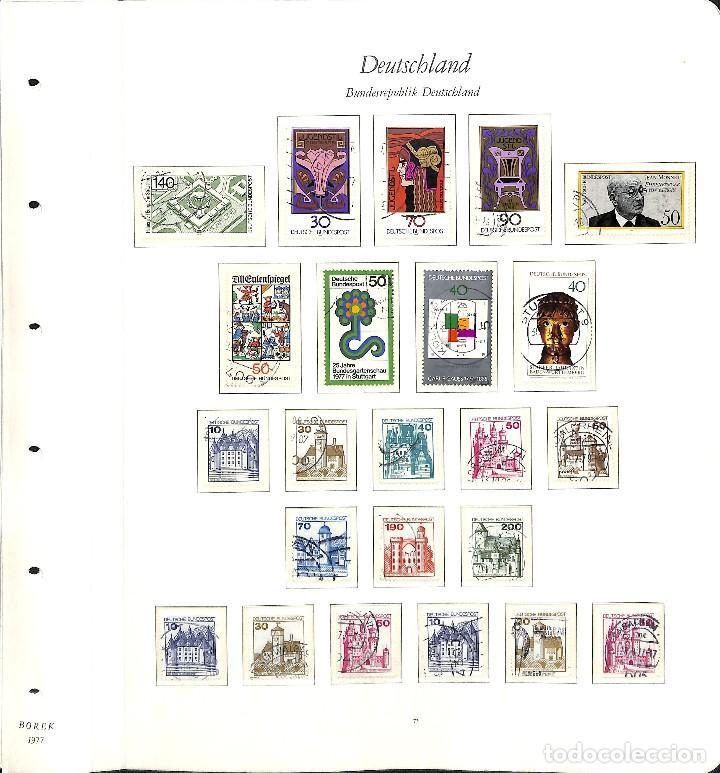 Sellos: ALEMANIA FEDERAL, 1966-1989 COLECCIÓN DE SELLOS Y HOJAS BLOQUE EN USADO, - Foto 40 - 128830527