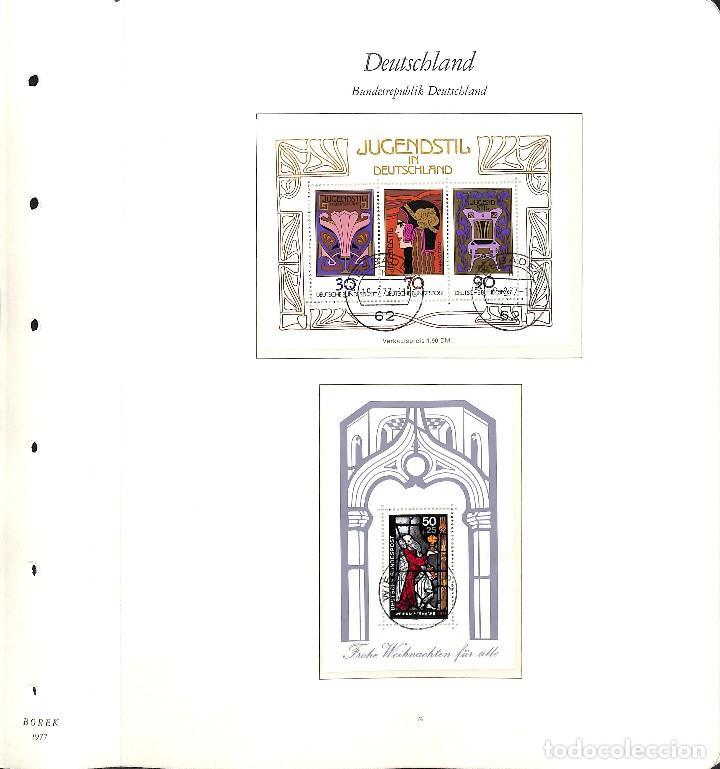 Sellos: ALEMANIA FEDERAL, 1966-1989 COLECCIÓN DE SELLOS Y HOJAS BLOQUE EN USADO, - Foto 41 - 128830527