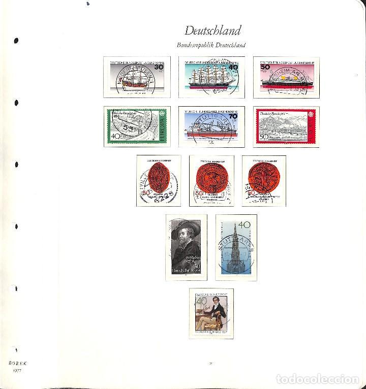 Sellos: ALEMANIA FEDERAL, 1966-1989 COLECCIÓN DE SELLOS Y HOJAS BLOQUE EN USADO, - Foto 42 - 128830527