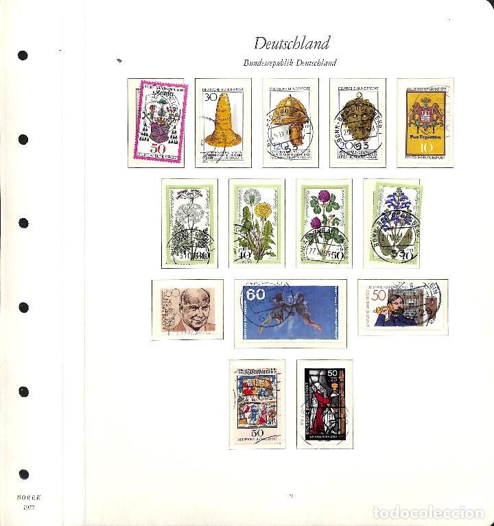 Sellos: ALEMANIA FEDERAL, 1966-1989 COLECCIÓN DE SELLOS Y HOJAS BLOQUE EN USADO, - Foto 43 - 128830527