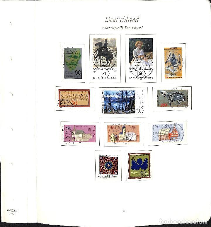 Sellos: ALEMANIA FEDERAL, 1966-1989 COLECCIÓN DE SELLOS Y HOJAS BLOQUE EN USADO, - Foto 46 - 128830527