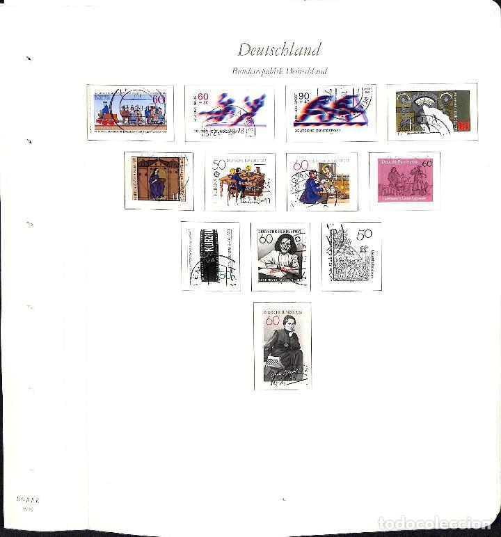 Sellos: ALEMANIA FEDERAL, 1966-1989 COLECCIÓN DE SELLOS Y HOJAS BLOQUE EN USADO, - Foto 50 - 128830527