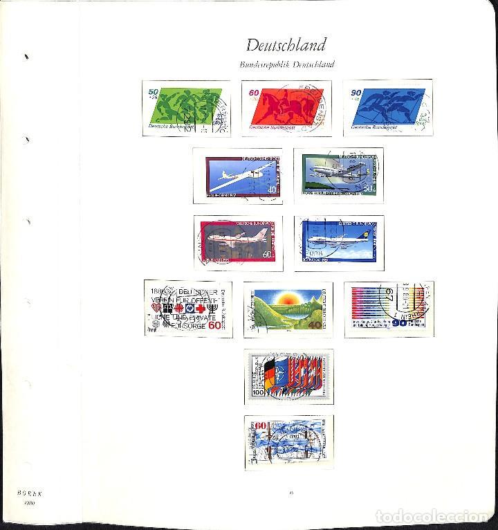 Sellos: ALEMANIA FEDERAL, 1966-1989 COLECCIÓN DE SELLOS Y HOJAS BLOQUE EN USADO, - Foto 52 - 128830527