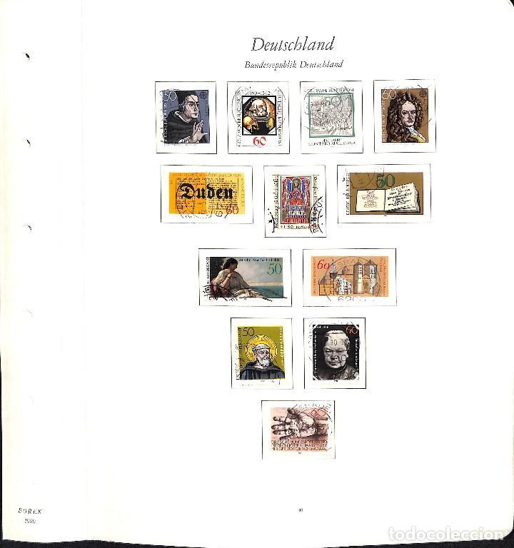 Sellos: ALEMANIA FEDERAL, 1966-1989 COLECCIÓN DE SELLOS Y HOJAS BLOQUE EN USADO, - Foto 53 - 128830527