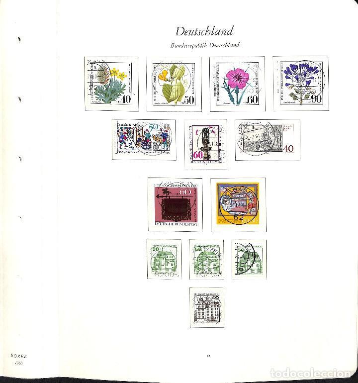 Sellos: ALEMANIA FEDERAL, 1966-1989 COLECCIÓN DE SELLOS Y HOJAS BLOQUE EN USADO, - Foto 54 - 128830527