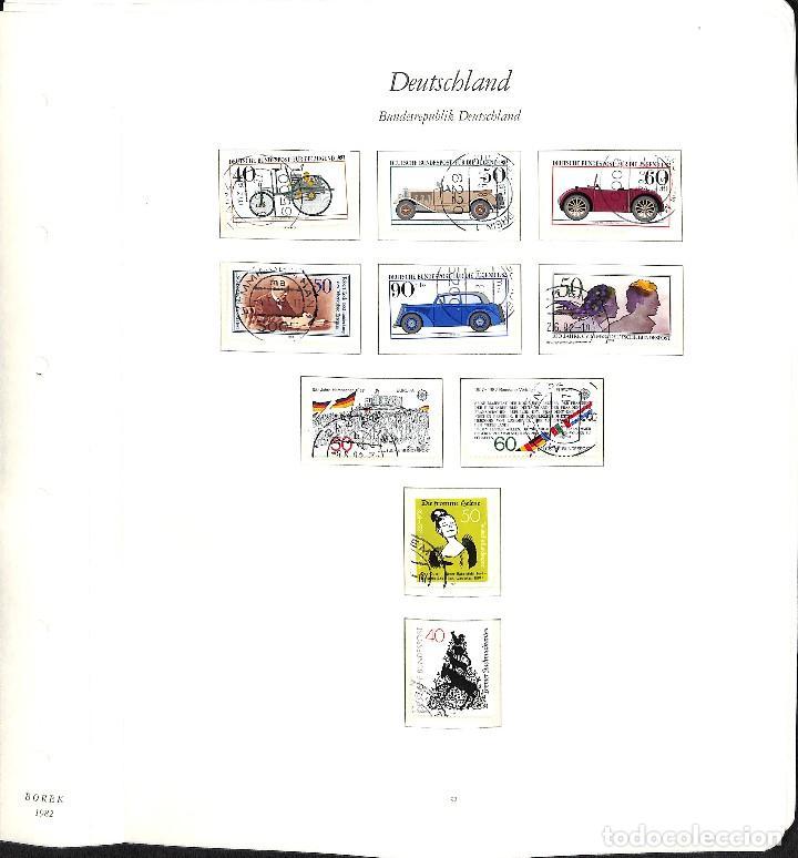 Sellos: ALEMANIA FEDERAL, 1966-1989 COLECCIÓN DE SELLOS Y HOJAS BLOQUE EN USADO, - Foto 59 - 128830527