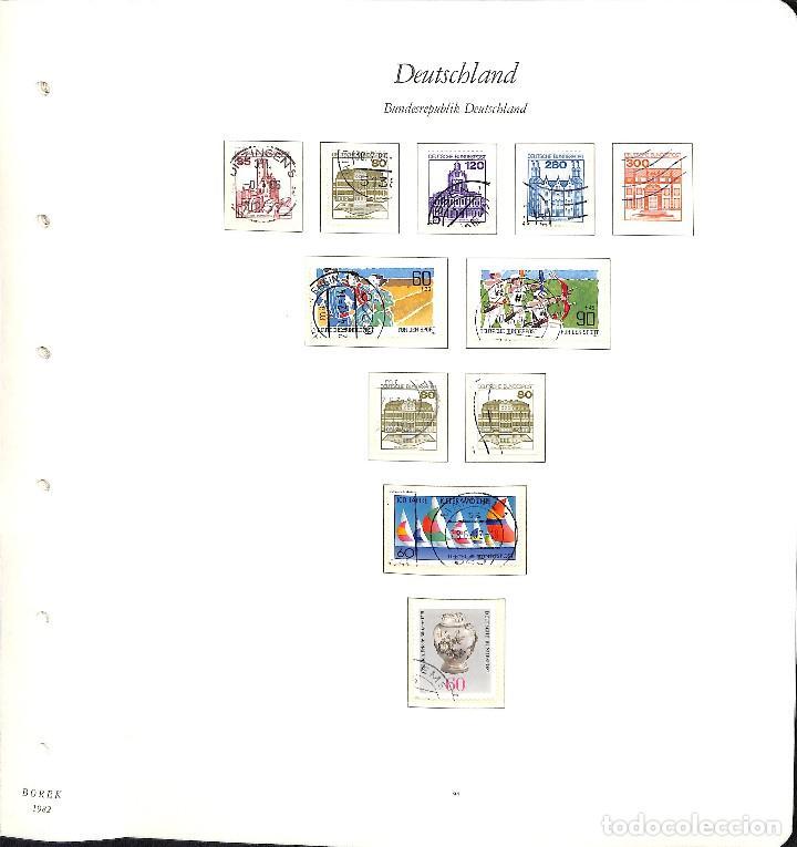 Sellos: ALEMANIA FEDERAL, 1966-1989 COLECCIÓN DE SELLOS Y HOJAS BLOQUE EN USADO, - Foto 61 - 128830527
