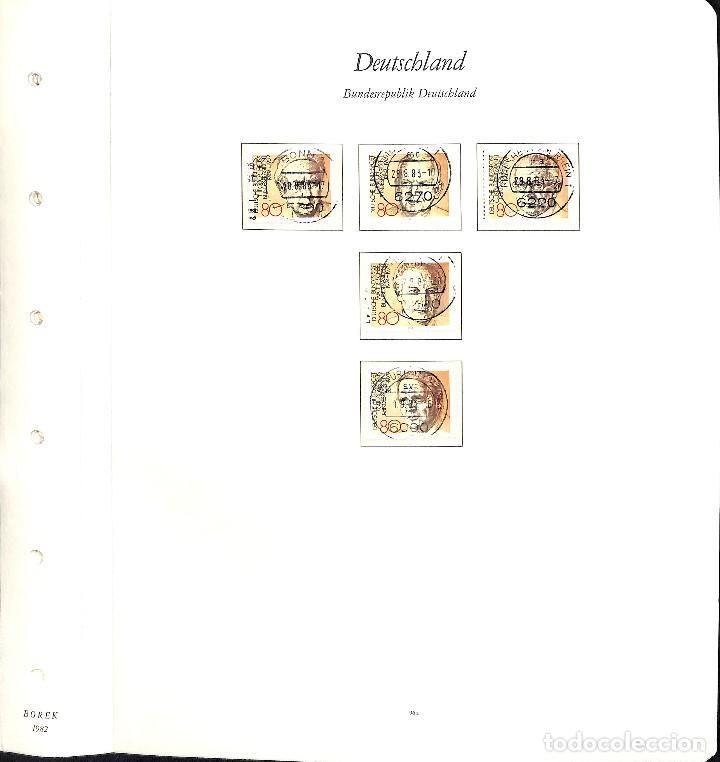 Sellos: ALEMANIA FEDERAL, 1966-1989 COLECCIÓN DE SELLOS Y HOJAS BLOQUE EN USADO, - Foto 64 - 128830527