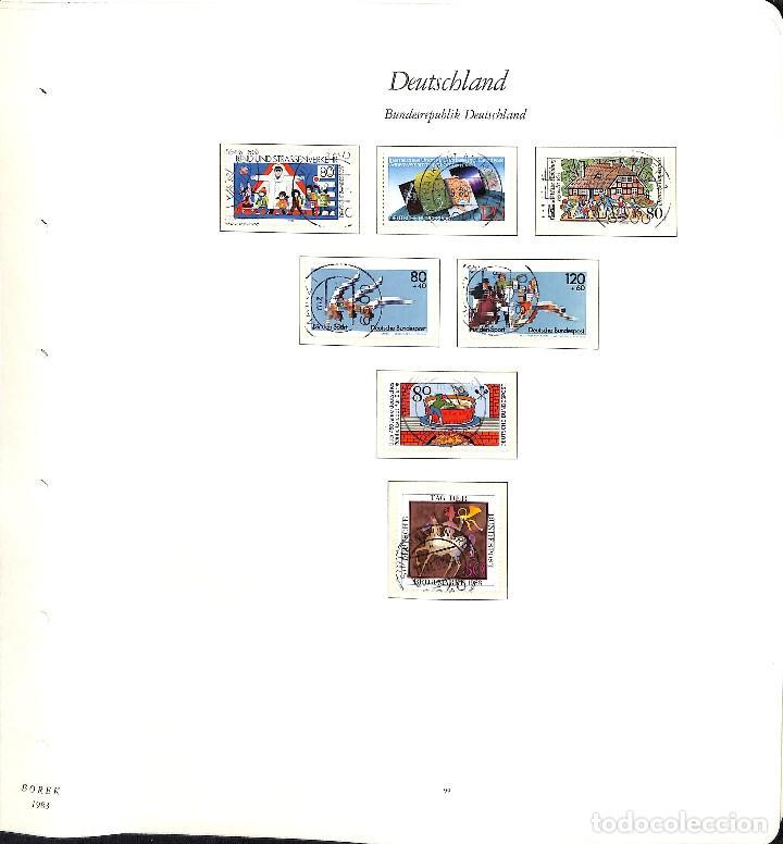 Sellos: ALEMANIA FEDERAL, 1966-1989 COLECCIÓN DE SELLOS Y HOJAS BLOQUE EN USADO, - Foto 67 - 128830527