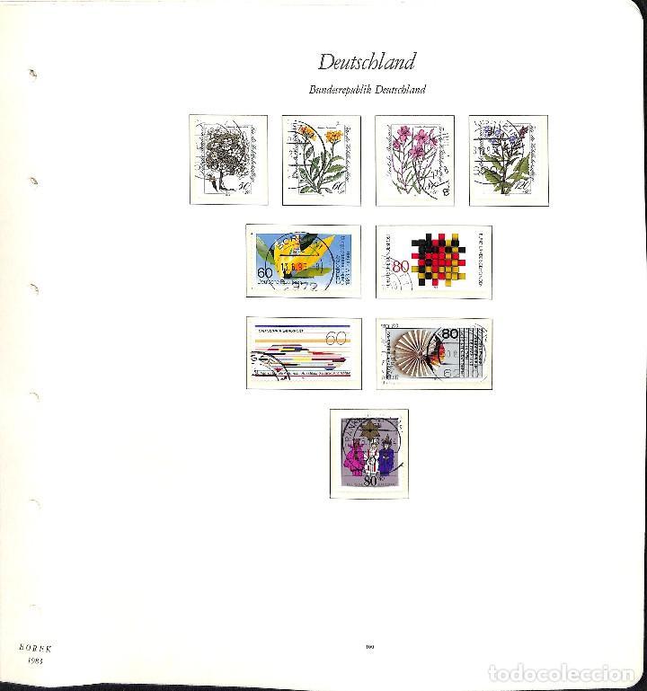 Sellos: ALEMANIA FEDERAL, 1966-1989 COLECCIÓN DE SELLOS Y HOJAS BLOQUE EN USADO, - Foto 68 - 128830527