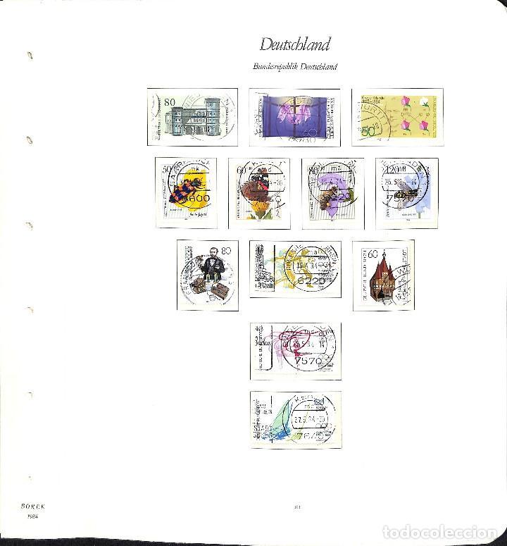 Sellos: ALEMANIA FEDERAL, 1966-1989 COLECCIÓN DE SELLOS Y HOJAS BLOQUE EN USADO, - Foto 69 - 128830527