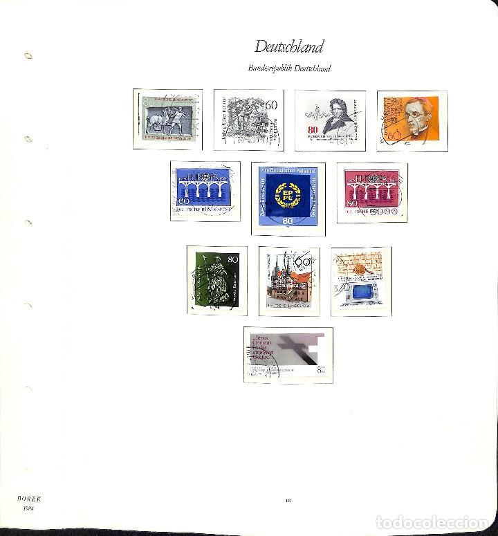 Sellos: ALEMANIA FEDERAL, 1966-1989 COLECCIÓN DE SELLOS Y HOJAS BLOQUE EN USADO, - Foto 70 - 128830527