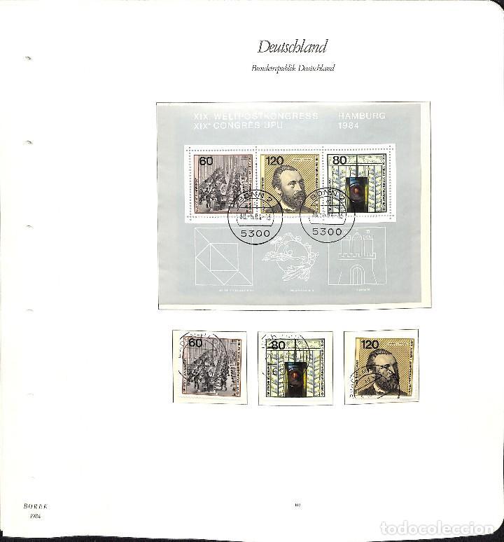 Sellos: ALEMANIA FEDERAL, 1966-1989 COLECCIÓN DE SELLOS Y HOJAS BLOQUE EN USADO, - Foto 71 - 128830527