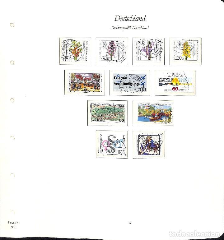 Sellos: ALEMANIA FEDERAL, 1966-1989 COLECCIÓN DE SELLOS Y HOJAS BLOQUE EN USADO, - Foto 72 - 128830527