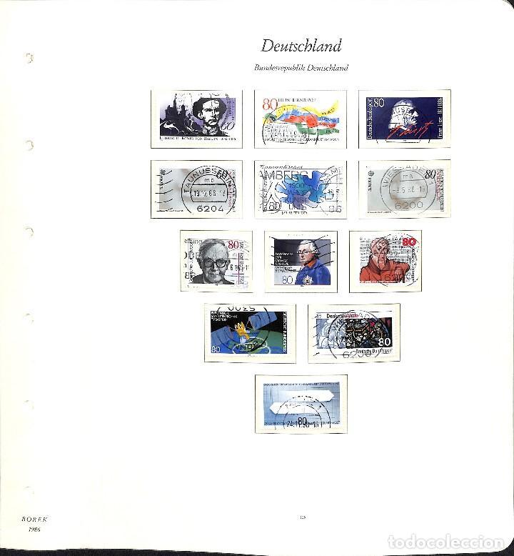 Sellos: ALEMANIA FEDERAL, 1966-1989 COLECCIÓN DE SELLOS Y HOJAS BLOQUE EN USADO, - Foto 77 - 128830527