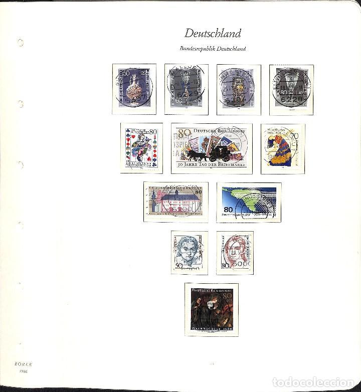 Sellos: ALEMANIA FEDERAL, 1966-1989 COLECCIÓN DE SELLOS Y HOJAS BLOQUE EN USADO, - Foto 79 - 128830527