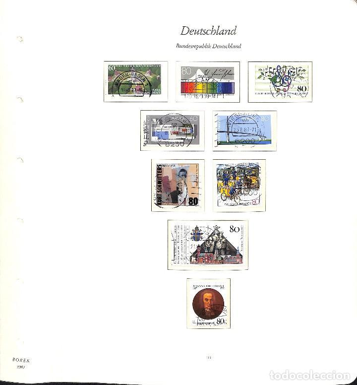 Sellos: ALEMANIA FEDERAL, 1966-1989 COLECCIÓN DE SELLOS Y HOJAS BLOQUE EN USADO, - Foto 81 - 128830527