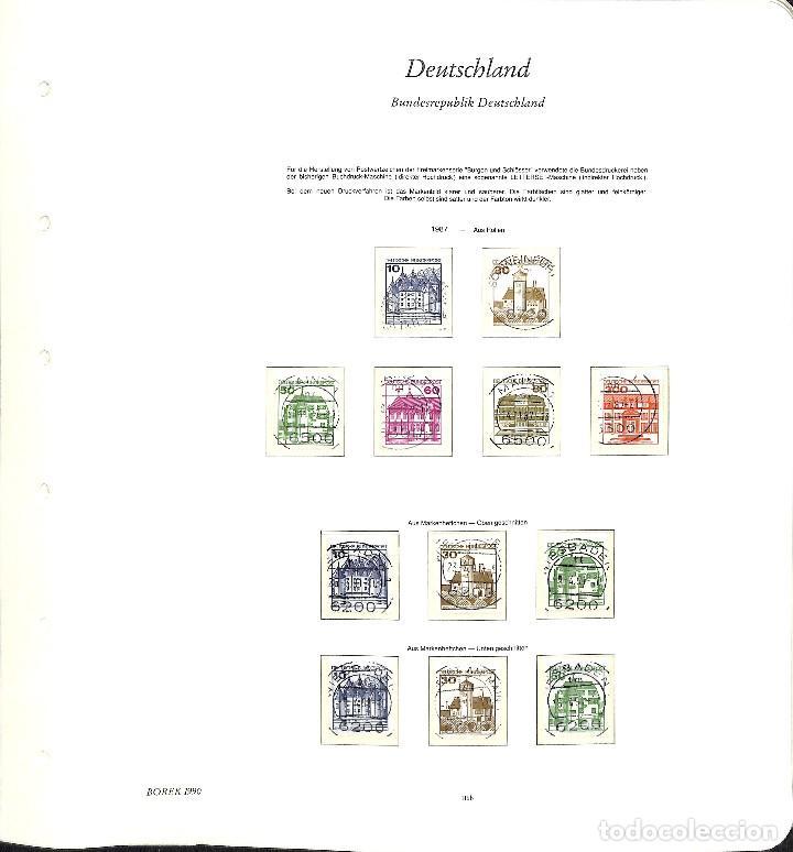 Sellos: ALEMANIA FEDERAL, 1966-1989 COLECCIÓN DE SELLOS Y HOJAS BLOQUE EN USADO, - Foto 85 - 128830527