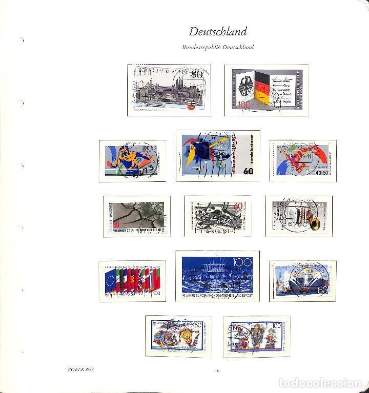 Sellos: ALEMANIA FEDERAL, 1966-1989 COLECCIÓN DE SELLOS Y HOJAS BLOQUE EN USADO, - Foto 89 - 128830527