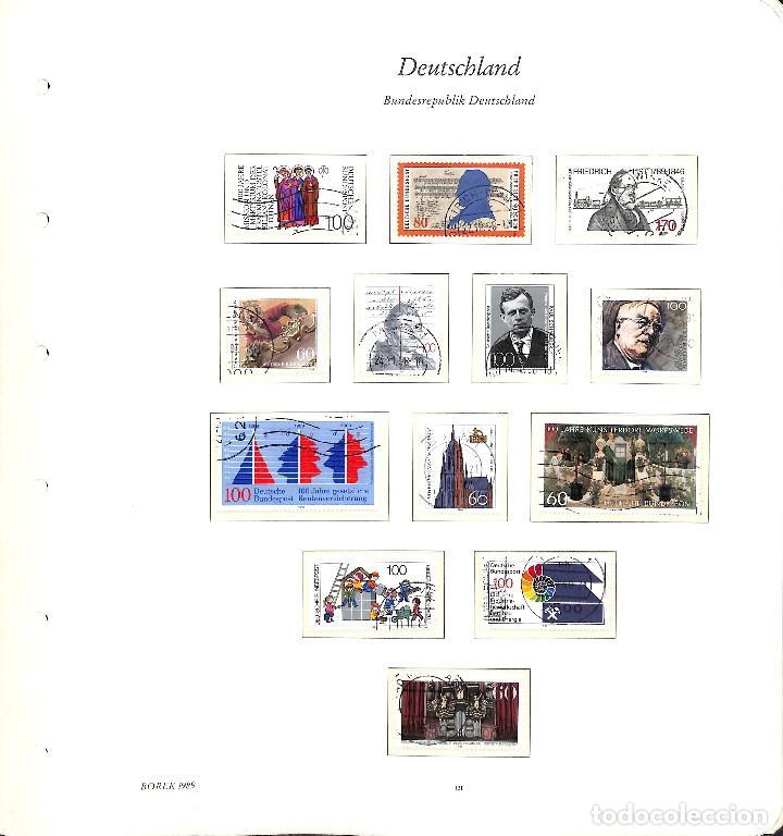 Sellos: ALEMANIA FEDERAL, 1966-1989 COLECCIÓN DE SELLOS Y HOJAS BLOQUE EN USADO, - Foto 90 - 128830527