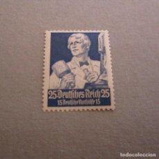 Sellos: ALEMANIA 1934, IMPERIO YVERT Nº 520*, A BENEFICIO DE SOCORRO DE INVIERNO PROFESIONES-ESCULTOR. Lote 130538394