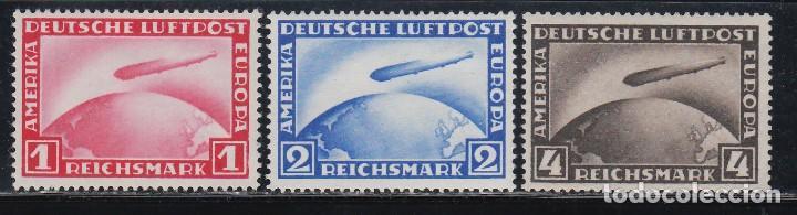 ALEMANIA IMPERIO, 1928-1931 YVERT Nº 35 / 37 /*/ (Sellos - Extranjero - Europa - Alemania)
