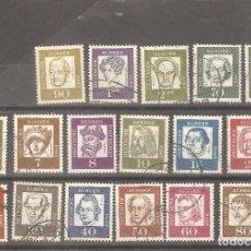 Sellos: SERIE 1961-1963. Lote 131383206