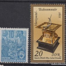 Sellos: 1957 Y 1983 REPUBLICA DEMOCRATIC ALEMANA RDD EAST GERMANY FIVE YEAR PLAN EARLY MNH**. Lote 133288638