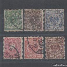 Sellos: ALEMANIA IMPERIO_LOTE DE CLASICOS_VER FOTOS_ALTO VALOR. Lote 133825994